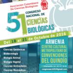 LI Congreso Nacional de Ciencias Biológicas – Armenia